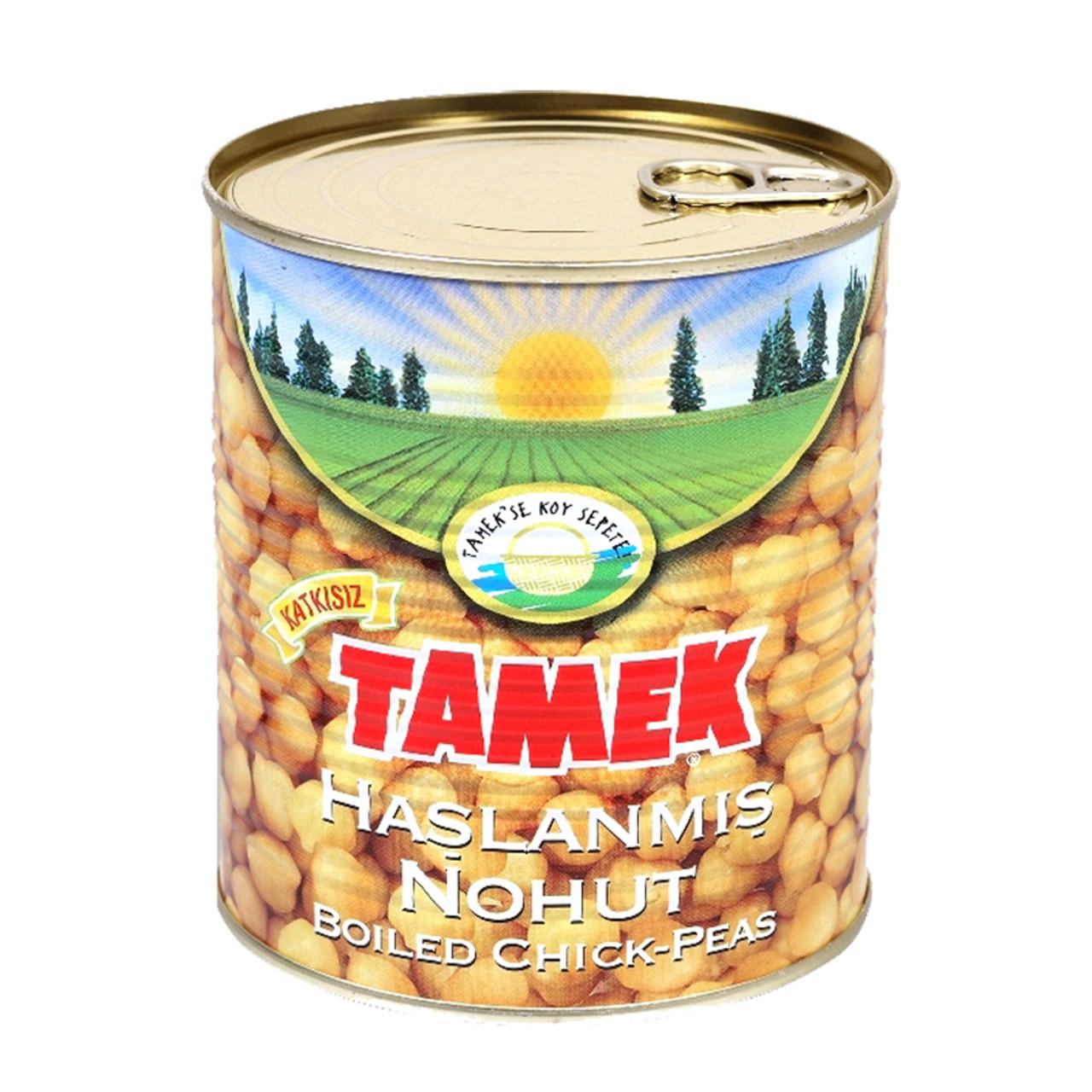 TAMEK Boiled Chickpeas 800g