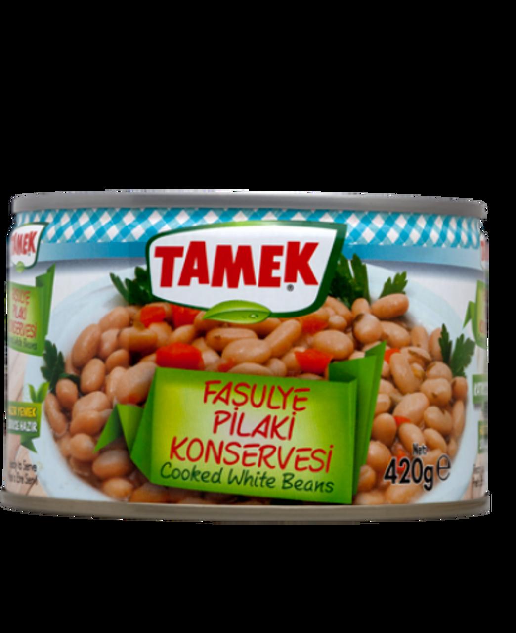 TAMEK Cooked White Beans 420g