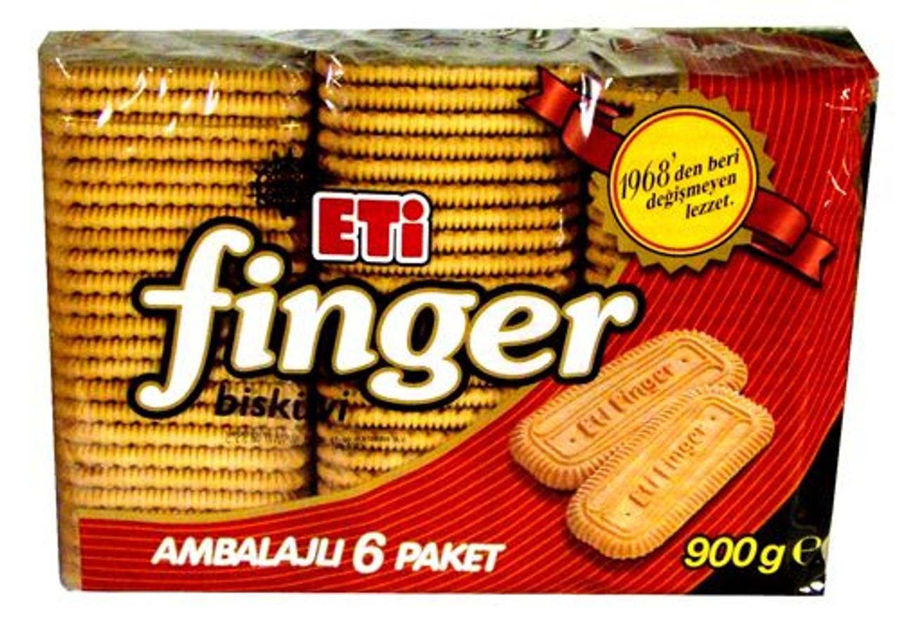 ETI FINGER TEA BISCUIT (900G)