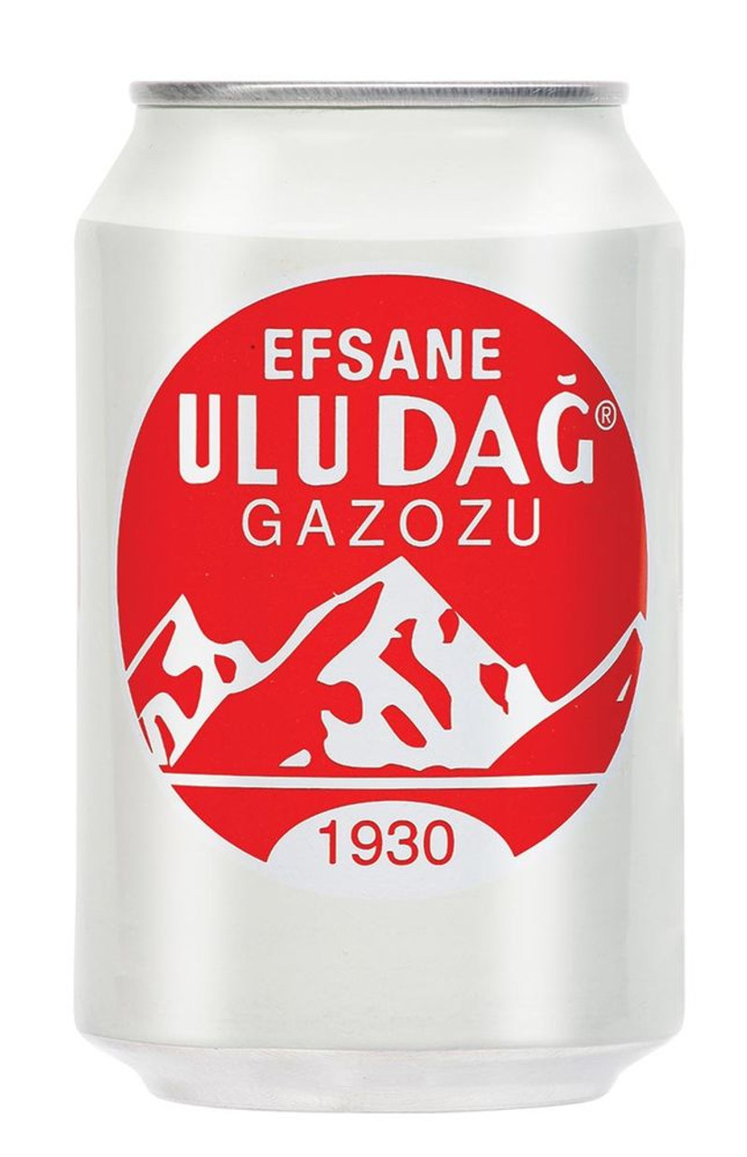 ULUDAG GAZOZ SOFT DRINK ORIGINAL in Can(330ml)