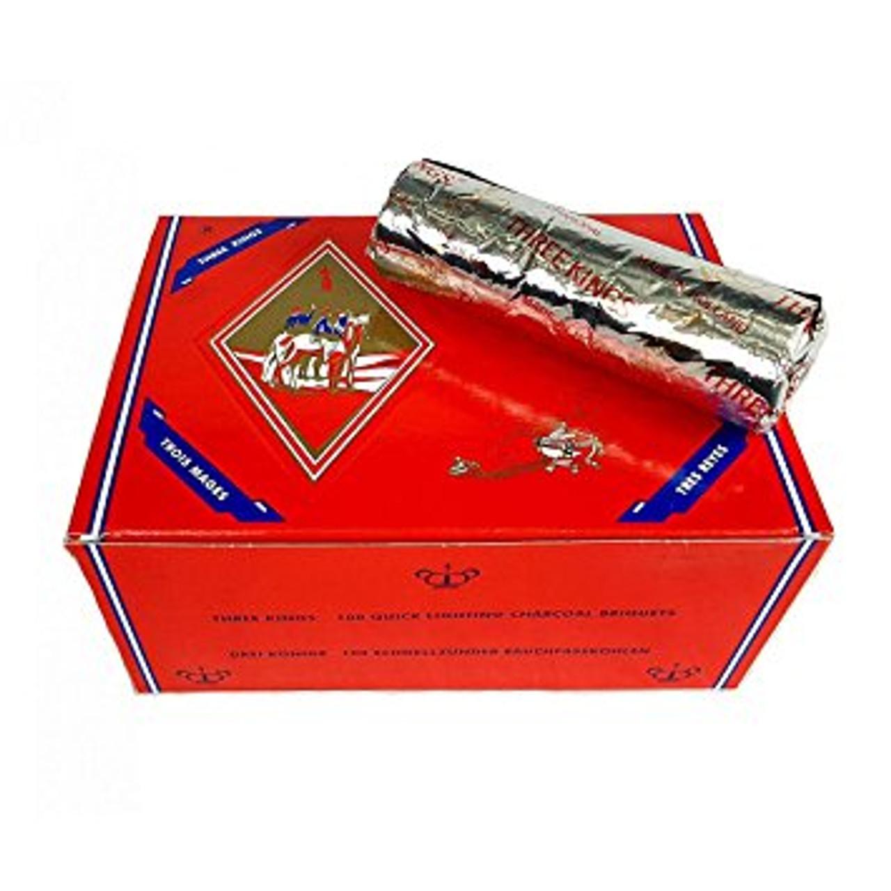 Three Kings Charcoal 40MM Box