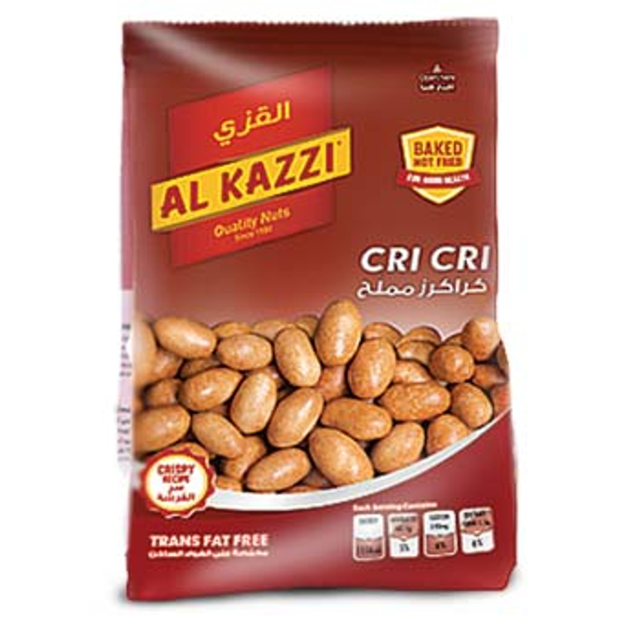 NGREDIENTS : Peanuts, wheat flour, corn starch, salt, maltodextrine. Contains: peanuts, wheat flour. Although every preventive measure has been taken, this product may contain traces of treenuts and milk products.