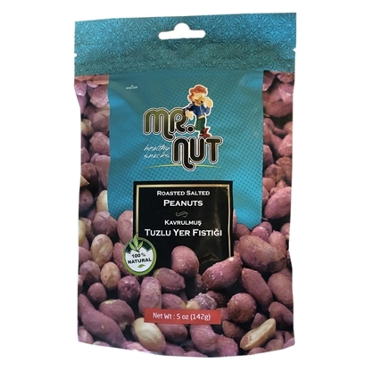 Mr. Nut  Roasted Salted Peanuts  142g.