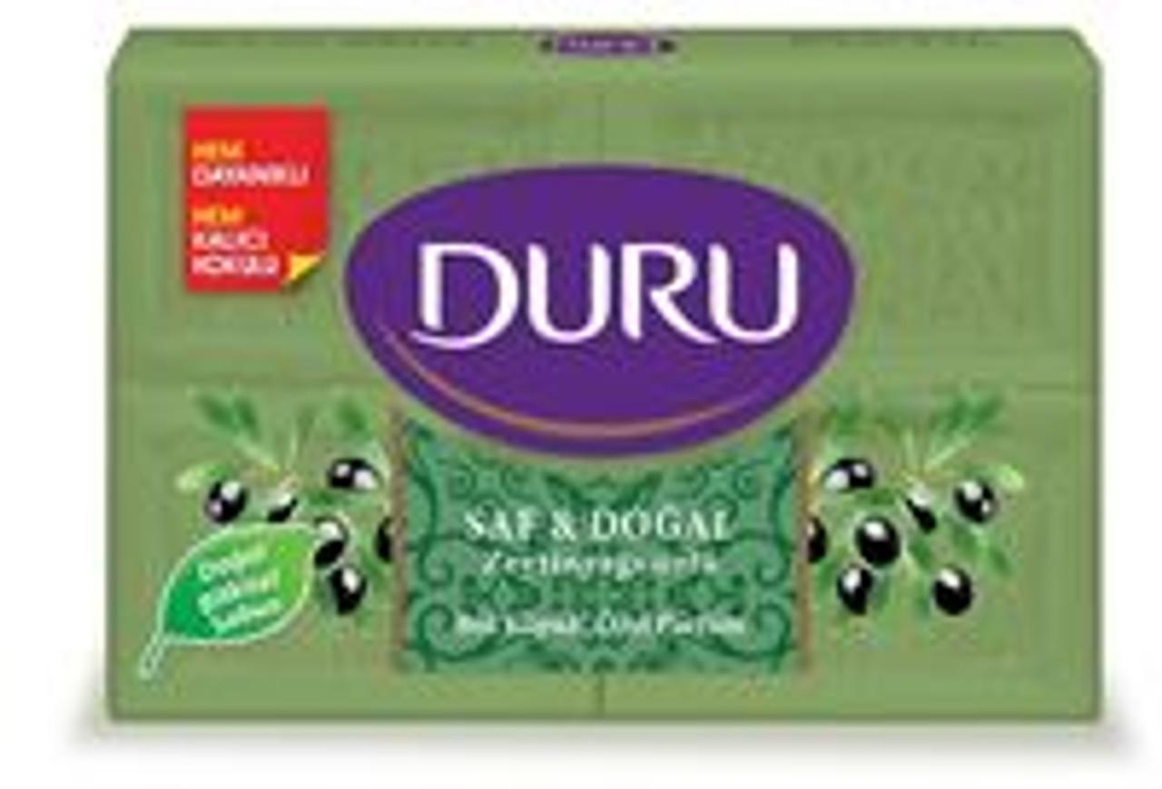 Duru Pure&natural Olive Oil Soap 150Gx4