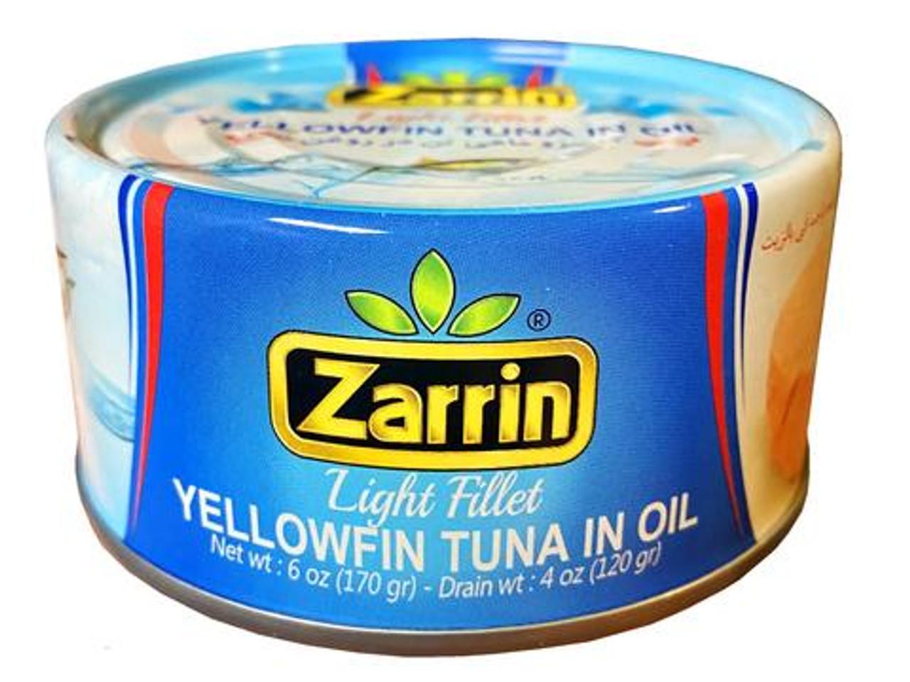 ZARRIN Yellowfin Tuna in Oil 120g