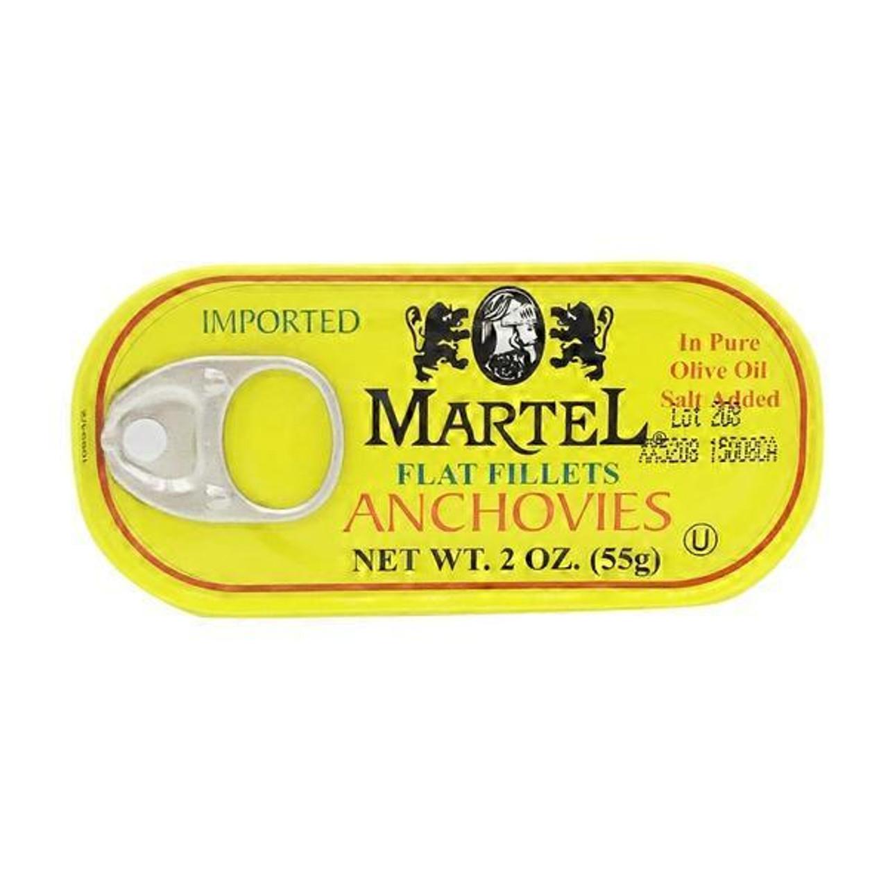 MARTEL Flat Fillets Anchovies 55g