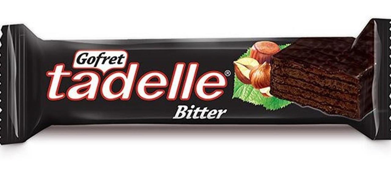 TADELLE Bitter Chocolate Wafer w/Hazelnut 35g