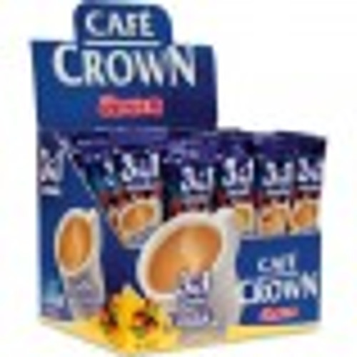 ULKER CAFE CROWN  Coffee - 3 in 1 HAZELNUT FLAVOR (Ülker Cafe Crown  40PC)