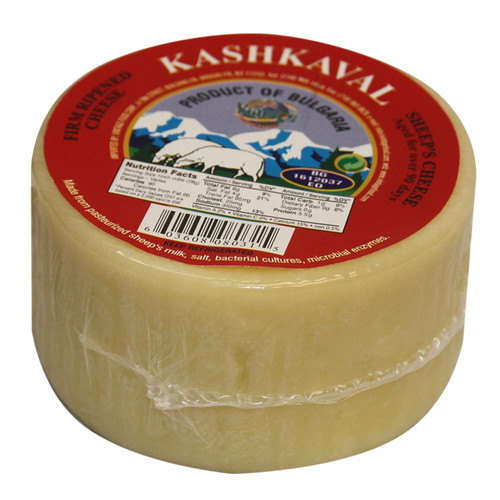 KRINOS Bulgarian Sheep Kaskhaval Cheese Red Label 450g
