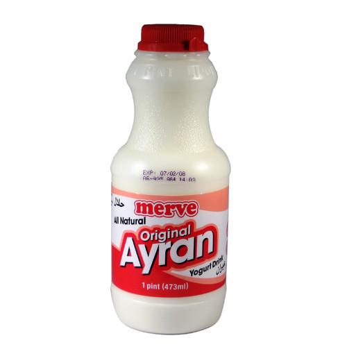 MERVE Ayran Yogurt Drink Regular 1pint