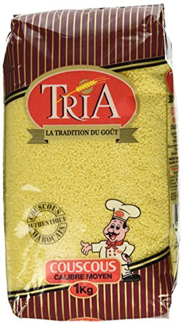 Tria Moroccan Couscous Medium 2lb  by Tria