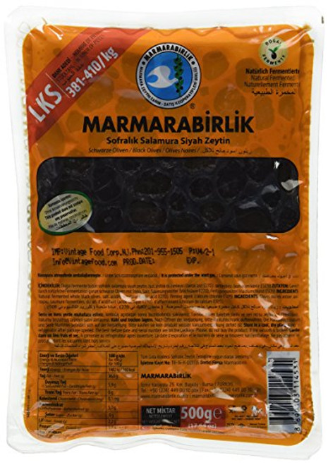 MARMARABIRLIK Luks Gemlik Olives 3XS Size Orange Pack 800g