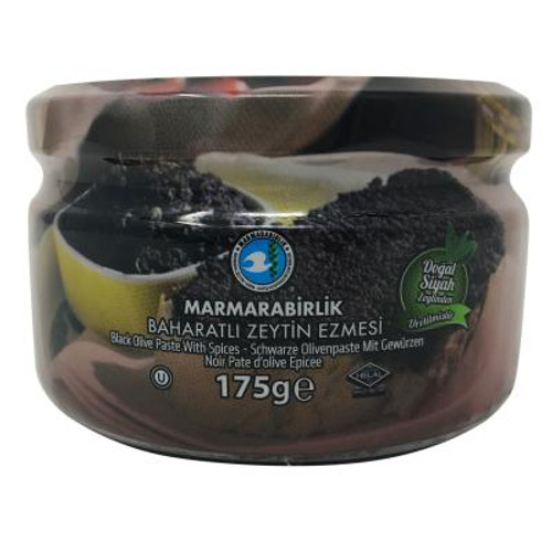 MARMARABIRLIK Black Olive Paste 175g