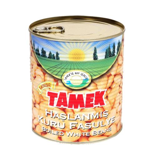 TAMEK Boiled White Beans 800g