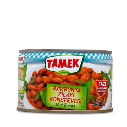 TAMEK Red Beans (Barbunya Pilaki) 425g
