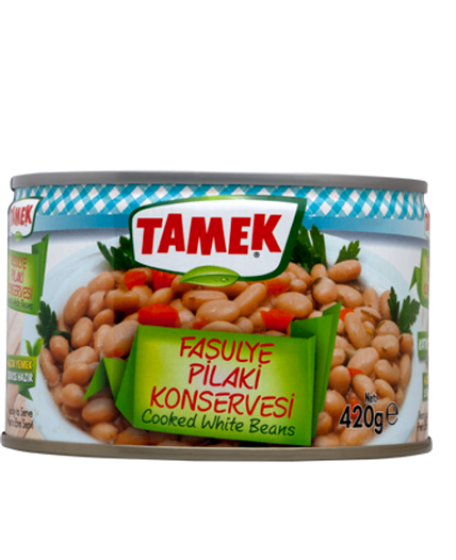 TAMEK Cooked White Beans 420g