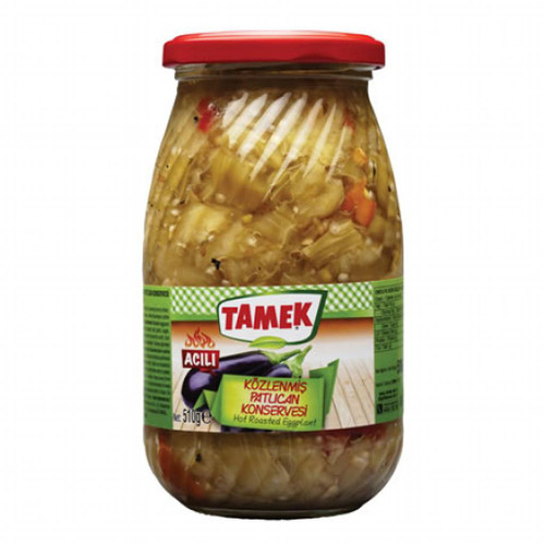 TAMEK Roasted Eggplant Hot 510g
