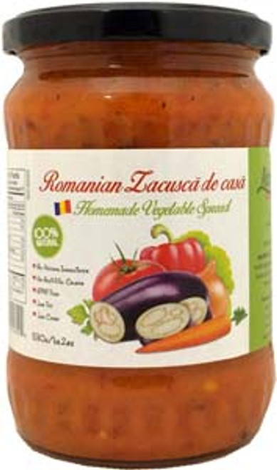 Livada Vegetable Spread (Romanian Zacusca) (530g)