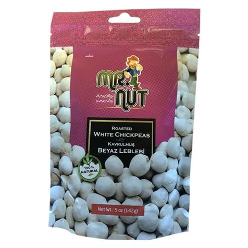 Kavrulmus Beyaz Leblebi. Mr.Nut 142g.