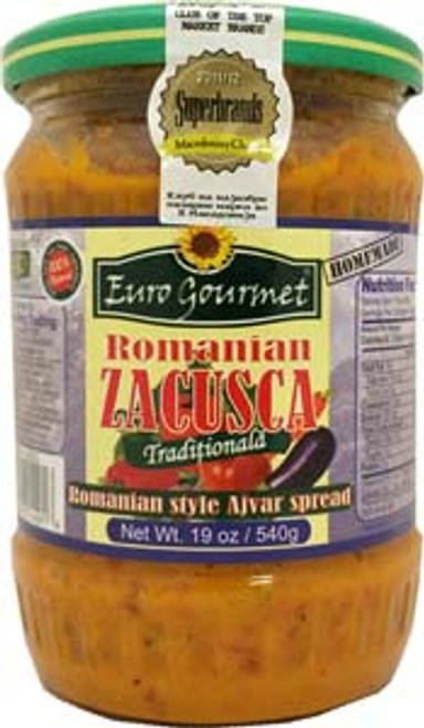 Eurogourmet Traditional Romanian Zacusca 12 (540g) Romania