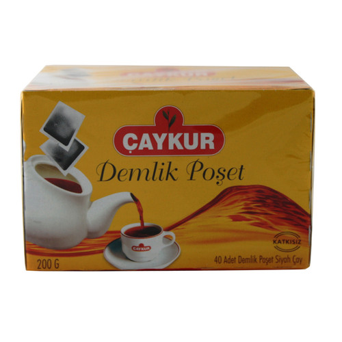 CAYKUR Demlik Poset Cay 40 Bags - 200g