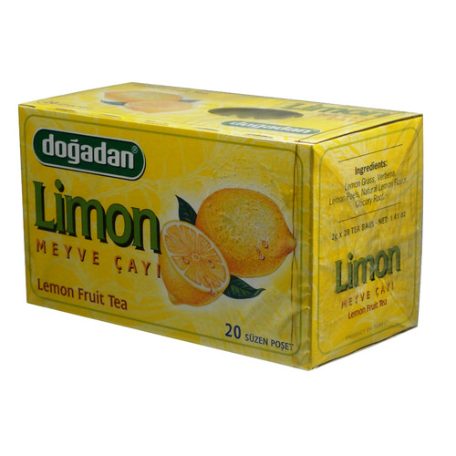 DOGADAN Form Tea w/Lemon 20 Bags - 40g