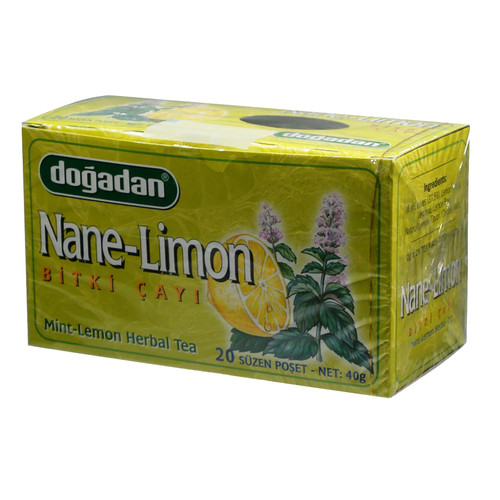 DOGADAN MINT & LEMON TEA (100G)