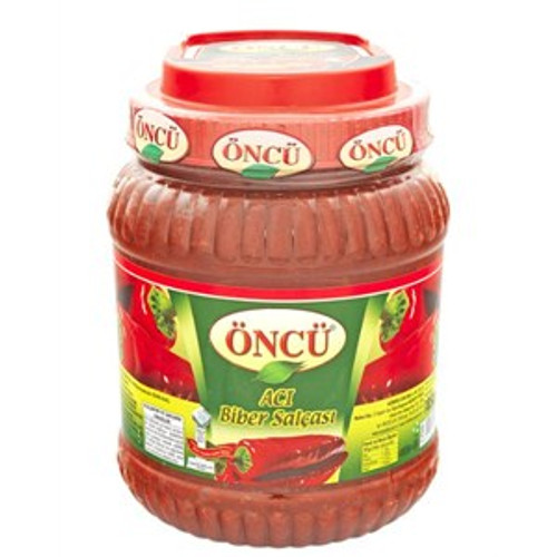 ONCU HOT Pepper Paste (ACI Biber Salçası - 1850 gr)