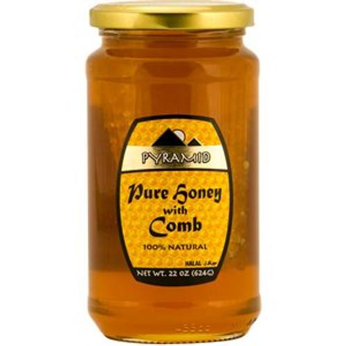 PYRAMID Pure Honey w/Comb 453g
