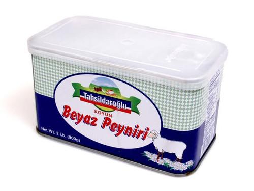 TAHSILDAROGLU Feta Sheep's Milk White Cheese - 908g Net Drained Weight