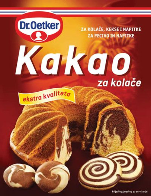 DR. OETKER Kakao (Cocoa Mix) 100g
