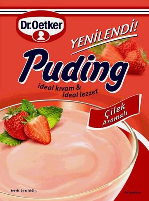 DR. OETKER Cilekli Puding (Strawberry Pudding) 125g