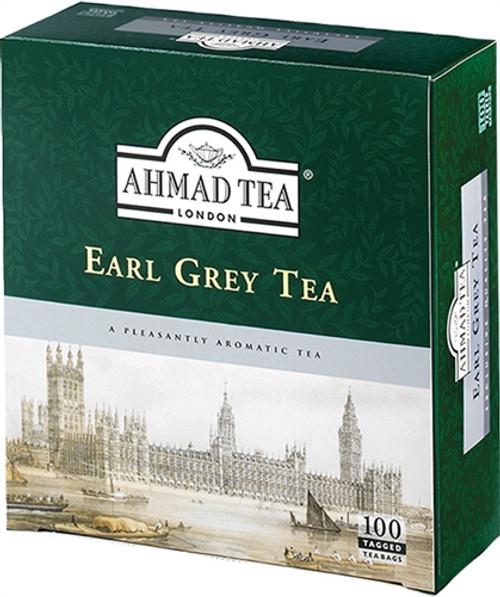 AHMADTEA Earl Grey Tea (100 Tea Bags) 200g