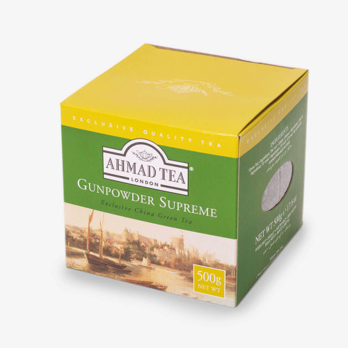 AHMADTEA Green Tea The Vert Gunpowder 500g