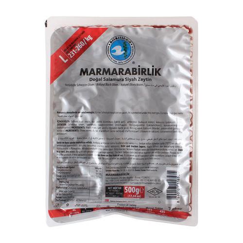 MARMARABIRLIK Hyper Olives L Size Silver Pack 500g