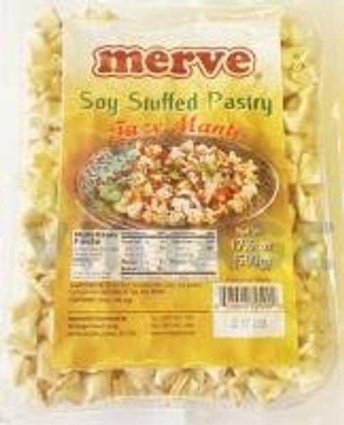 MERVE Dry Manti (Turkish Ravioli Soy Stuffed Pastry) 500g