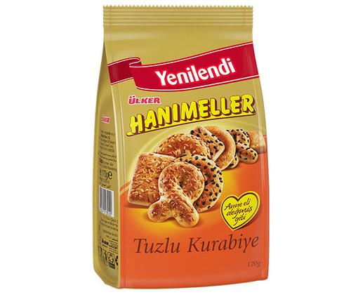 Ulker Hanimeller Salted Mixed Cookies