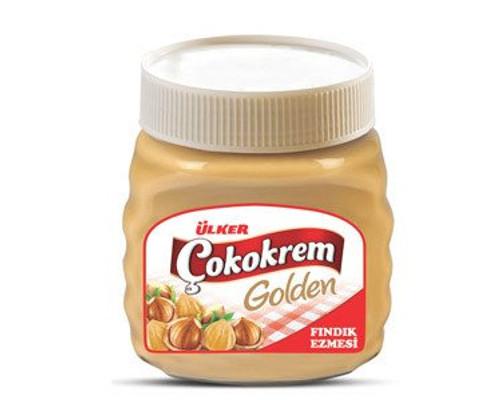 Ulker Golden Hazelnut Cream / Ulker Golden Findik Ezmesi