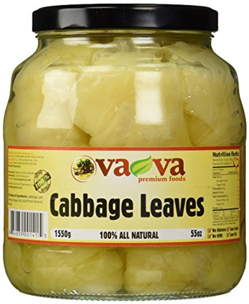 100% Vava Cabbage Leaves