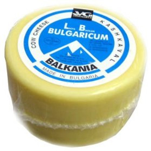 VG Bulgarian Cow's Milk Kaskhaval Cheese Blue Label 450g