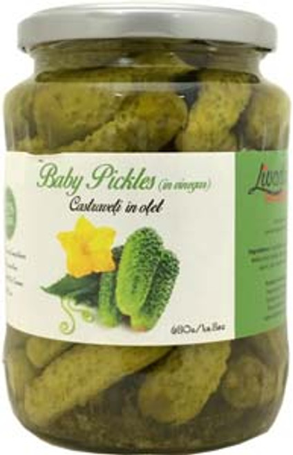 Livada Baby Pickles in Vinegar (680g)