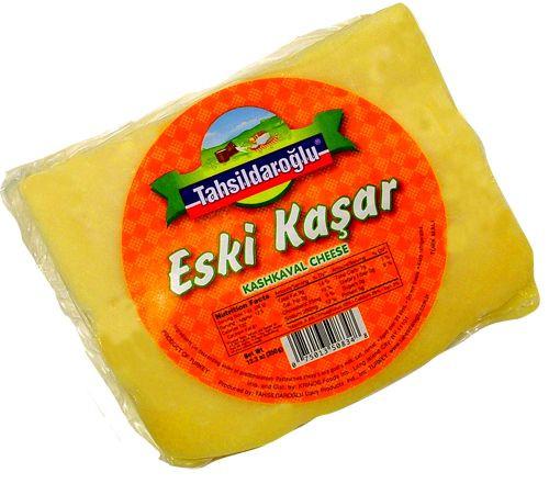 TAHSILDAROGLU Aged Kashkaval Cheese (Eski Kasar) 350g