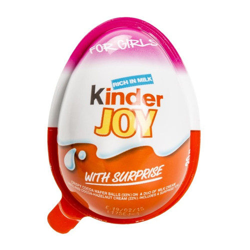 KINDER Joy Egg for Girls 25g