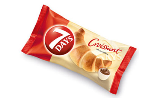 7 DAYS SINGLE CROISSANT COCOA FILLING 75G