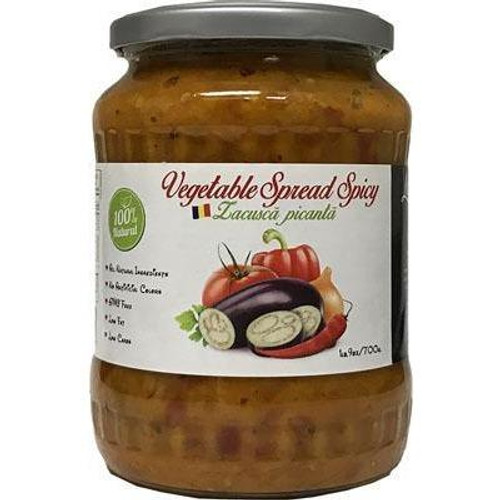 LIVADA Spicy Vegetable Spread ''Zacusca'' 700g