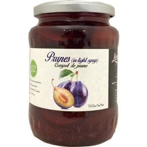 LIVADA Prunes in Light Syrup 720g
