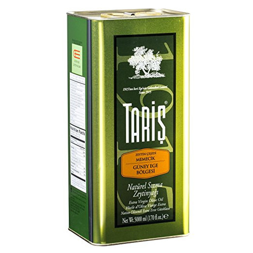 TARIS Premium Extra Virgin Olive Oil (Max. Acidity 0.8% - 169 Fl.Oz.)