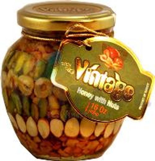 VINTAGE HONEY w NUTS 450GR