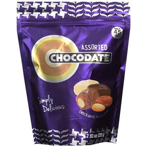 Ziyad Chocodates Chocolate Dates, Assorted, 100Gram