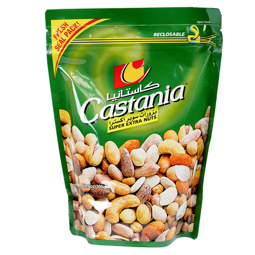CASTANIA Super Extra Nuts in Sealed Bag 300g